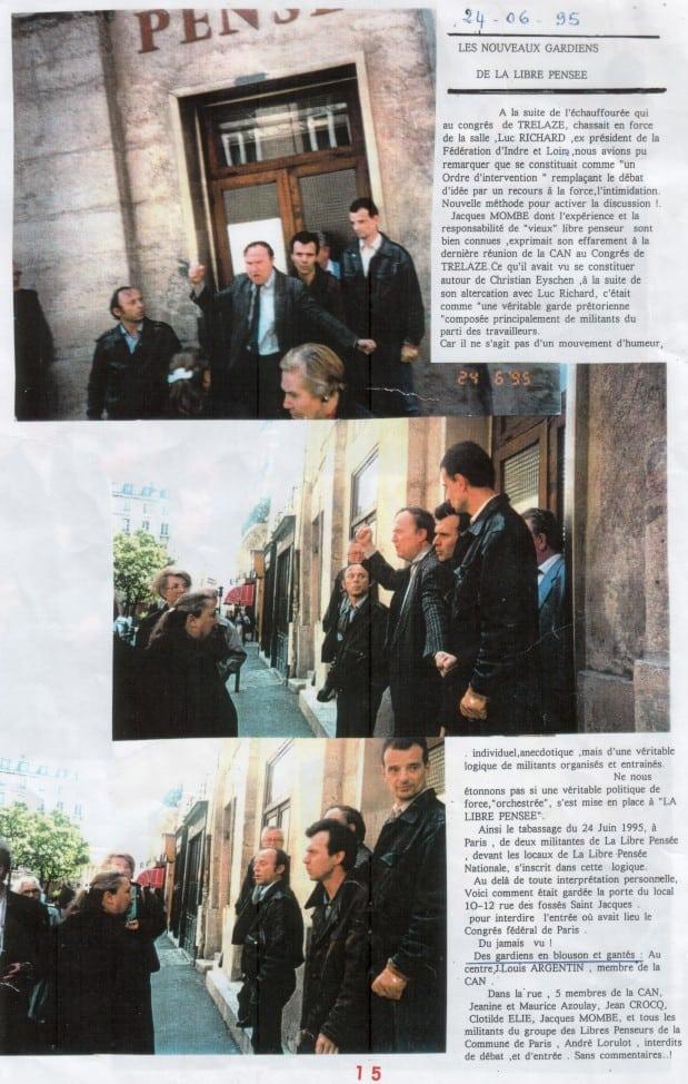 Conflit LP 1995 Recto