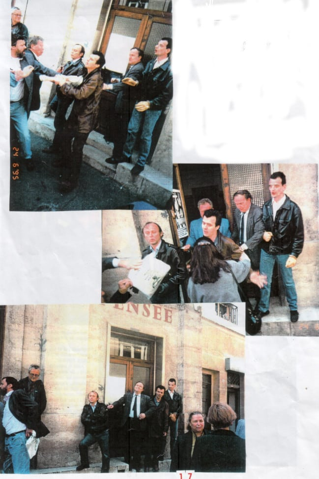 Conflit LP 1995 Verso