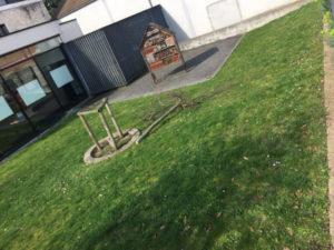 Vandalisme anti-laïque dans les Yvelines