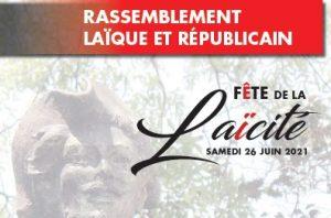 L'ALPF participe à la Fête de la Laïcité. Rejoignez-nous!